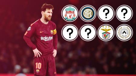 Deretan klub yang belum pernah dibobol Lionel Messi. - INDOSPORT