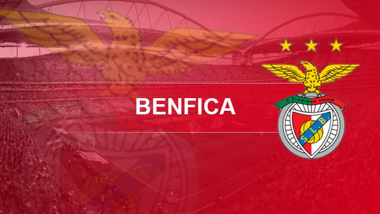 Logo Benfica. Copyright: INDOSPORT