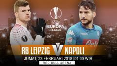 Indosport - Prediksi RB Leipzig vs Napoli.