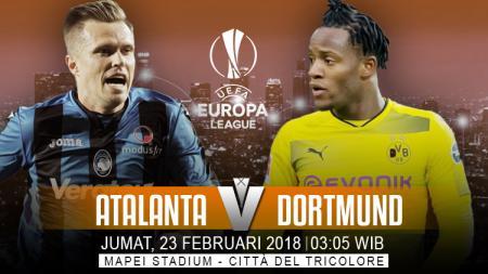 Prediksi Atalanta vs Borusia Dortmund. - INDOSPORT