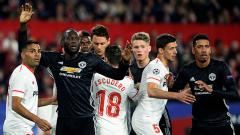 Indosport - Sevilla vs Man United.