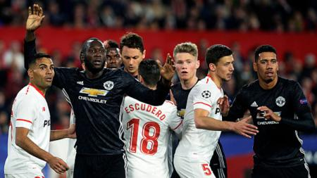 Sevilla vs Man United. - INDOSPORT