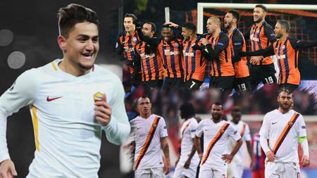 Shakhtar Donetsk vs AS Roma. - INDOSPORT