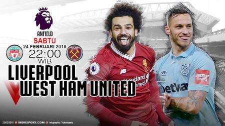 Prediksi Liverpool vs West Ham United - INDOSPORT