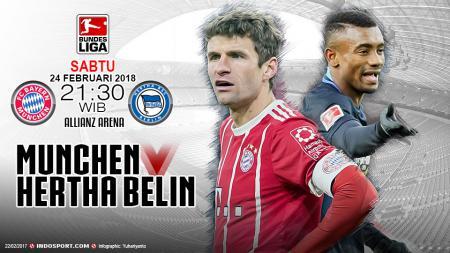 Prediksi Bayern Munchen vs Hertha Berlin - INDOSPORT