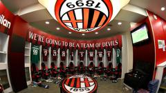 Indosport - Locker Room AC Milan