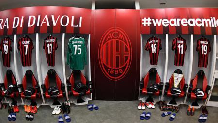 Locker Room AC Milan - INDOSPORT