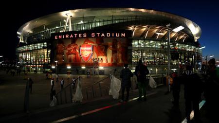 Emirates Stadium. - INDOSPORT
