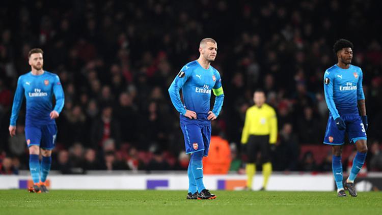 Arsenal vs Ostersunds Copyright: INDOSPORT