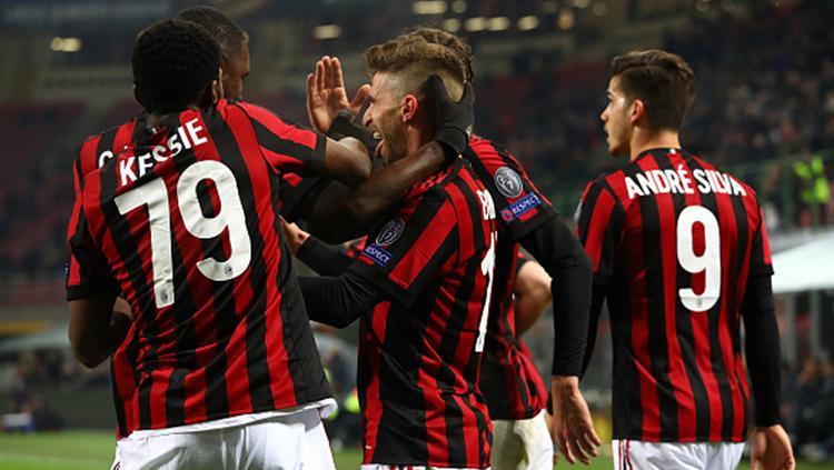 AC Milan vs Ludogorets Copyright: INDOSPORT