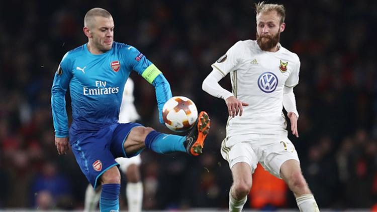 Arsenal vs Ostersunds Copyright: INDOSPORT