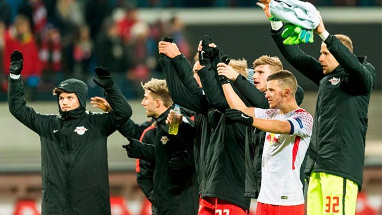 Para pemain Leipzig Copyright: INDOSPORT