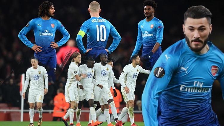 Arsenal v Ostersund FK. Copyright: Grafis: Eli Suhaeli/INDOSPORT