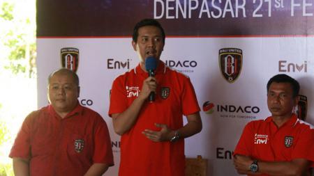 Kerja sama Bali United dengan sponsor baru - INDOSPORT