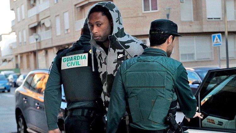 Ruben Semedo ditangkap polisi atas dugaan percobaan pembunhan. Copyright: metro.co.uk