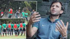 Indosport - Luis Milla, pelatih Timnas Indonesia.