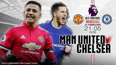 Prediksi Manchester United vs Chelsea. - INDOSPORT