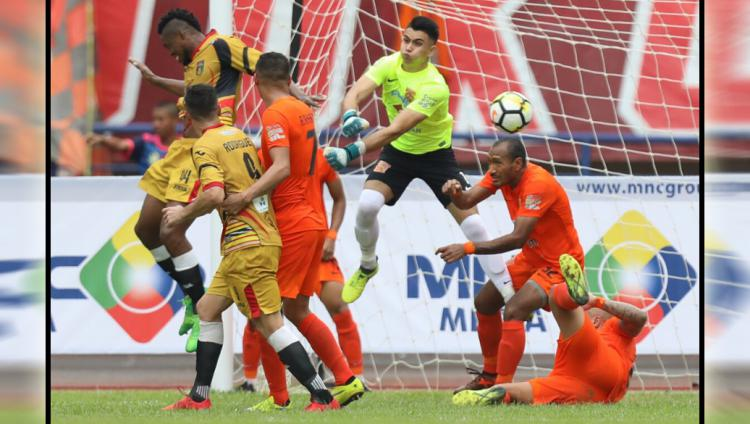 Borneo FC vs Mitra Kukar Copyright: Instagram@borneofc.id