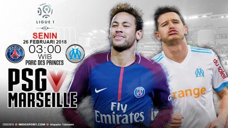 Prediksi Paris Saint-Germain vs Olympique de Marseille - INDOSPORT