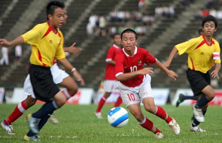 Irvin Museng dalam ajang turnamen U17 Youth Championship (AFF) di Phnom Penh, 19 Agustus 2007. Copyright: Getty Image