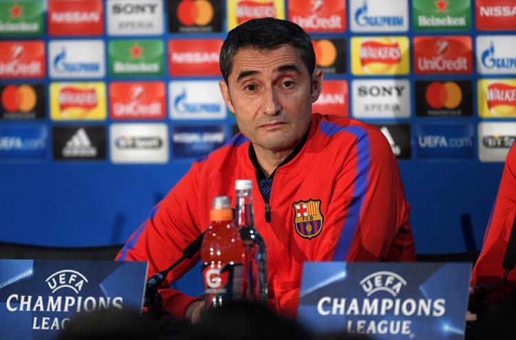 Ernesto Valverde (Pelatih Barcelona) Copyright: Getty Image