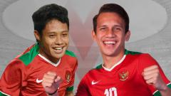 Indosport - Evan Dimas vs Egy Maulana Vikri.