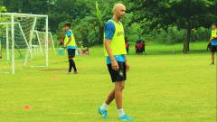 Indosport - Bruno Silva saat latihan