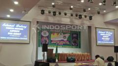 Indosport - Kongres PSSI Sumatera Utara Luar Biasa 2018