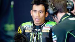 Indosport - Pembalap asal Malaysia, Hafizh Syahrin.
