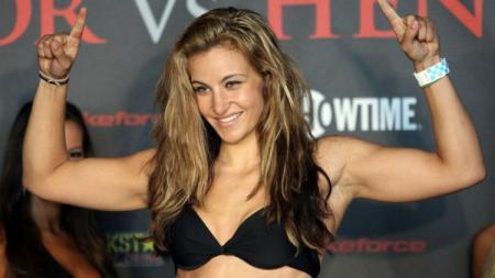Mantan atlet UFC asal Amerika Serikat, Miesha Tate - INDOSPORT