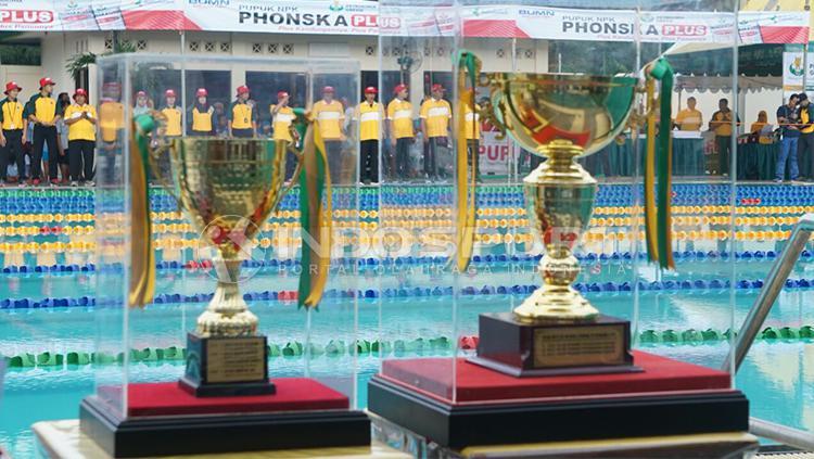 Peserta Kejurnas Renang Petrokimia Cup IX. Copyright: Fitra Herdian/INDOSPORT