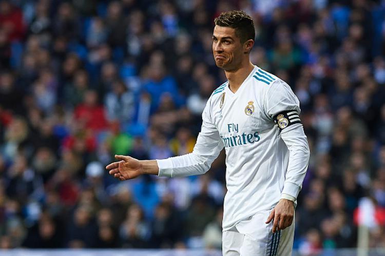 Salah satu ekspresi Ronaldo di Lapangan ketika melawan Alaves Copyright: Getty Images
