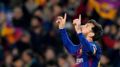 Indosport - Lionel Messi.