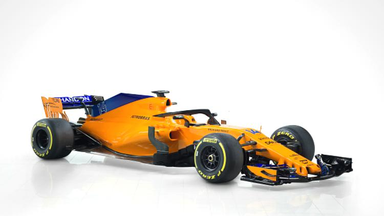 McLaren 2018 (MCL33) Copyright: Getty Images