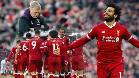 Liverpool berhasil memborbardir tim asuhan David Moyes dengan skor 4-1. - INDOSPORT