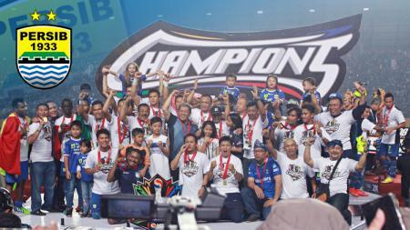 Momen Persib Bandung saat juara Liga Indonesia 2014. - INDOSPORT