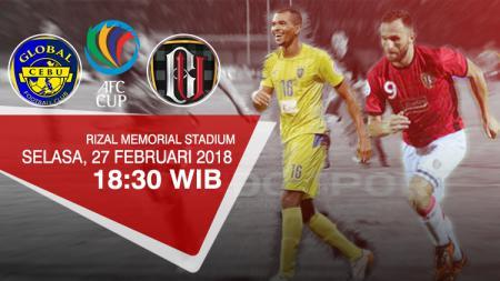 Prediksi Global Cebu vs Bali United. - INDOSPORT