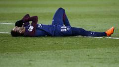 Indosport - Neymar mengalami cedera.