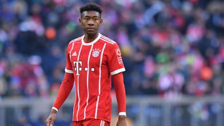 David Alaba, bek kiri Bayern Munchen. - INDOSPORT