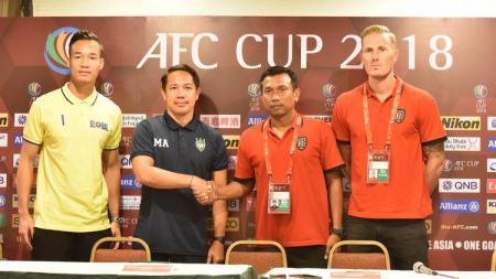 Jumpa pers jelang Global Cebu FC melawan Bali United. - INDOSPORT