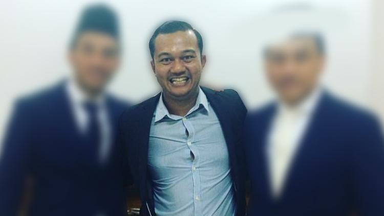 Wide Ananda Putra agen Jovanni Renaldi. Copyright: Istimewa