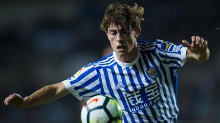 Bek Real Sociedad, Alvaro Odriozola. - INDOSPORT