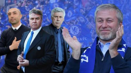 Bos Chelsea, Roman Abramovich, yang gemar memecat pelatih. - INDOSPORT