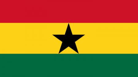 Bendera Ghana. - INDOSPORT