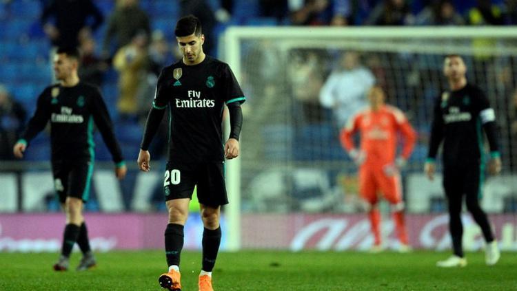 Real Madrid takluk 1-0  di kandang Espanyol Copyright: AFP/Josep Lago