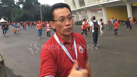 Ketua Panpel Persija l, Arief Perdana Kusuma. - INDOSPORT