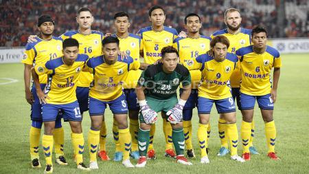 Skuat Tampines Rovers yang menghadapi Persija Jakarta. - INDOSPORT