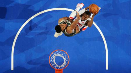 Milwaukee Bucks vs Detroit Pistons - INDOSPORT
