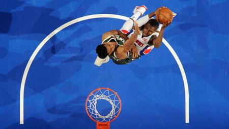 Milwaukee Bucks vs Detroit Pistons - INDOSPORT