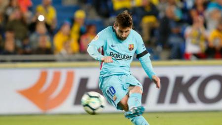 Bintang Barcelona, Lionel Messi, memiliki tendangan bebas yang sangat baik. Namun ada bocah kecil asal India yang bisa menirukan dengan baik tendangan khas itu. - INDOSPORT